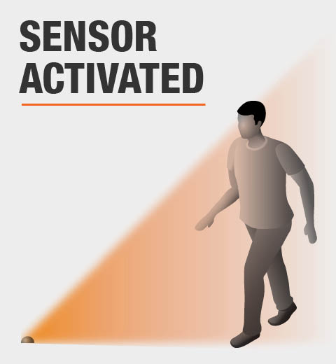 This product is sensor activated