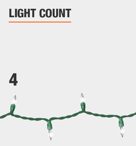 The light count is 4