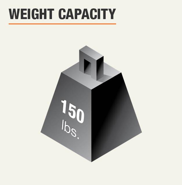 Weight Capacity 150 lbs.