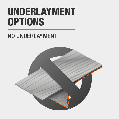 No Underlayment