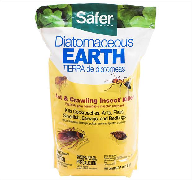 Safer Brand 4 Lb Diatomaceous Earth Bed Bug Flea Ant