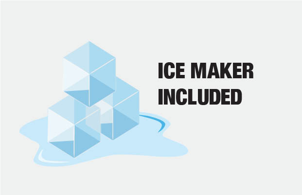 Ice Maker Included