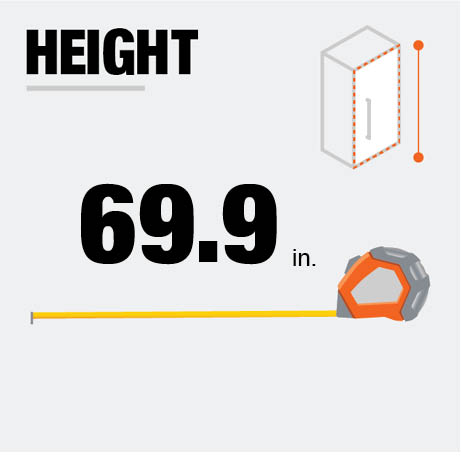 Fridge Height