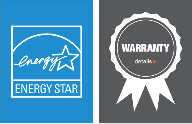 Energy Star Certified / Limited Warranty