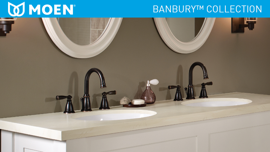 Moen Banbury 8 In Widespread 2 Handle High Arc Bathroom