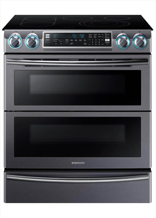 Flex Duo Oven Splits Into Two Ovens With Separate Heat Controls