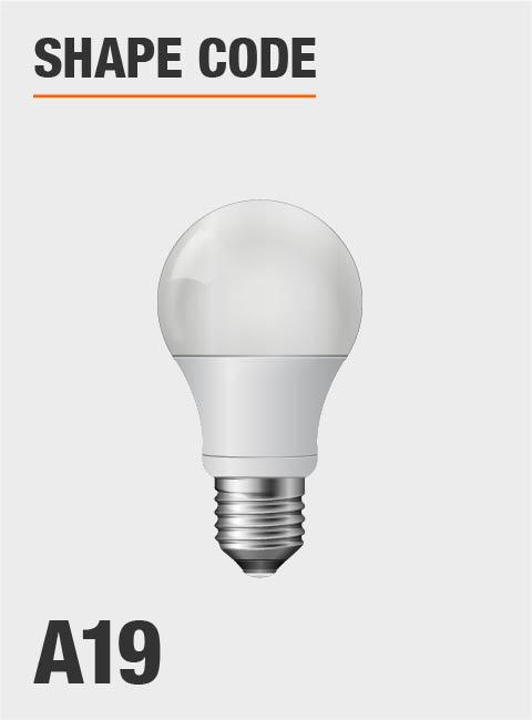 Philips 60-Watt Equivalent A19 LED SceneSwitch Light Bulb Daylight ...