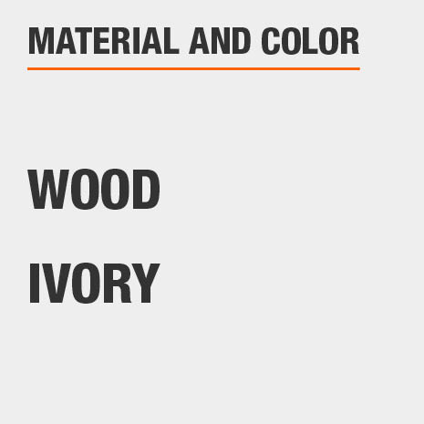 Jewelry Armoire Material Wood and Color Ivory