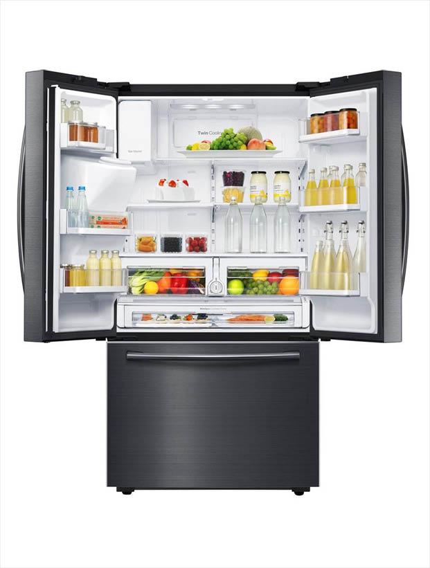 Samsung 28 07 Cu Ft French Door Refrigerator In