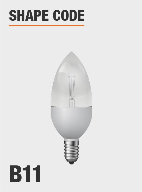 Day Time Light Bulbs: Philips 40-Watt Equivalent B11 Dimmable LED Energy Star