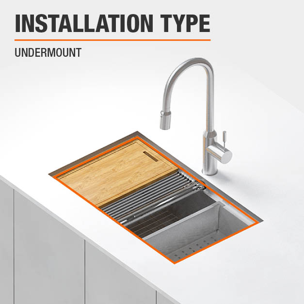 Sink Installation Type Undermount