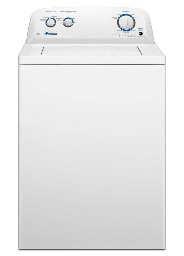 Amana 3 5 cu  ft  Top Load Washer in White