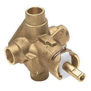 Post-Temp pressure-balancing valve