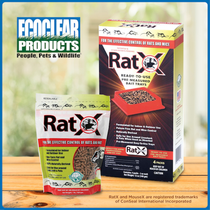 RatX Rodent Control comes in various sizes and trays