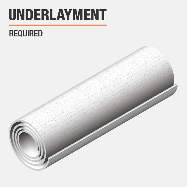 Underlayment Required