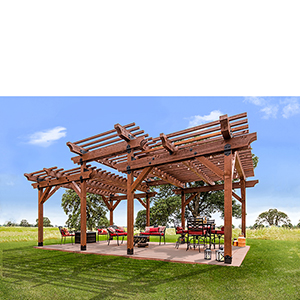 Outdoor Accents Large Pergola