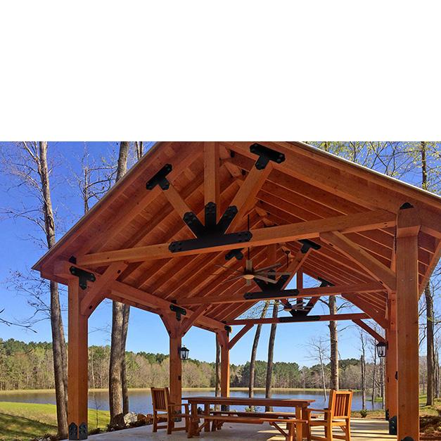 Forever Redwood Lake Pavilion