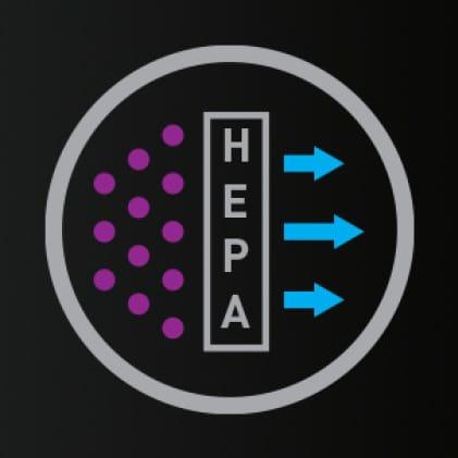 HEPA Media Filter Icon