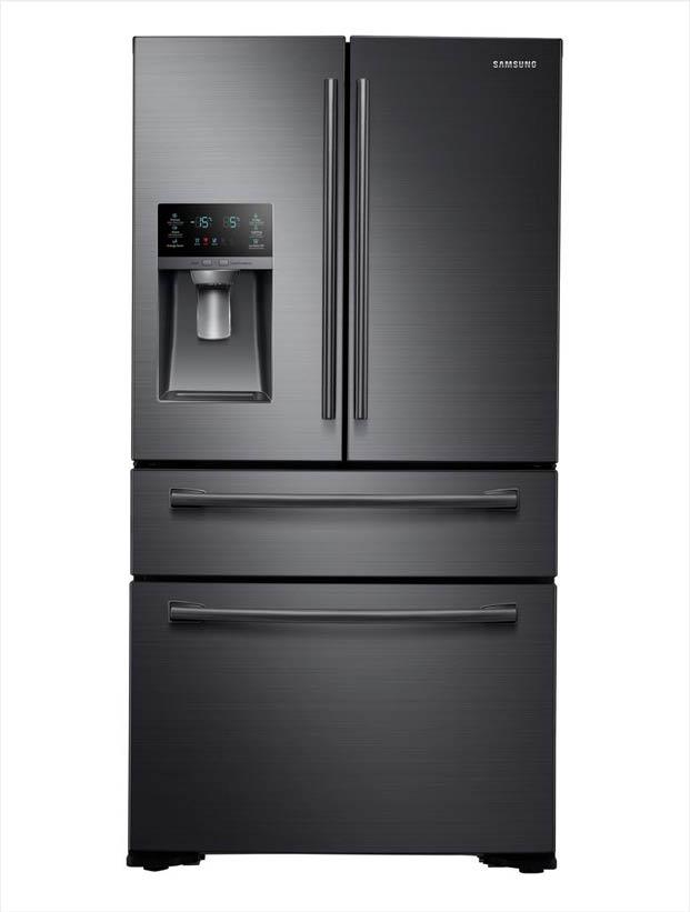 Samsung 29 7 Cu Ft French Door Refrigerator In Black