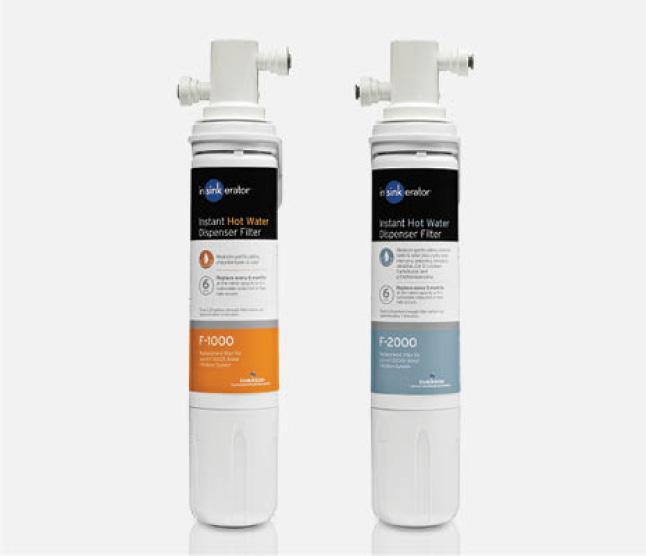 Hero image of InSinkErator filters side by side