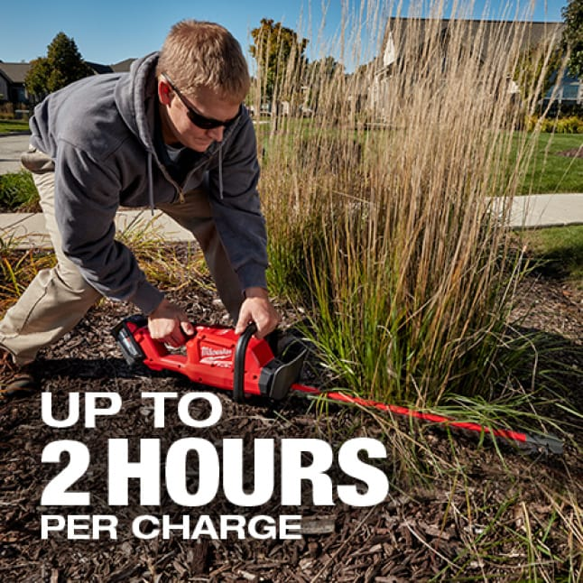 More work per charge and best in class run-time