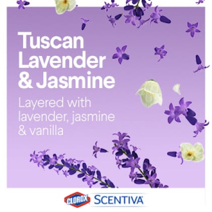 Smells Extraordinary with lavender, jasmine and vanilla.