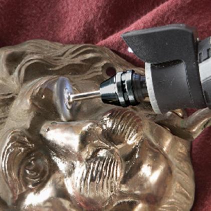 Image of tool polishing artwork