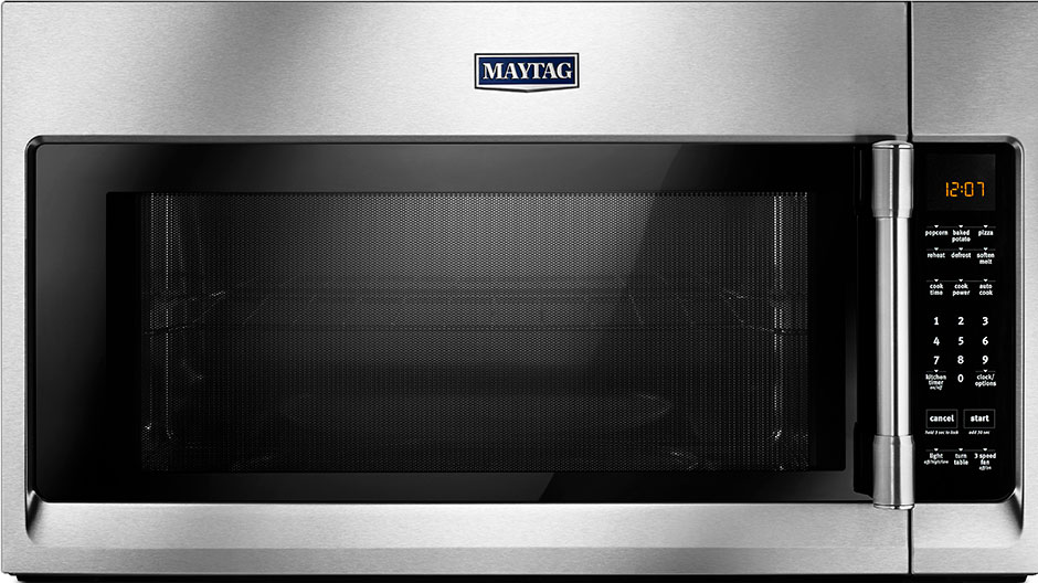 Maytag 2 0 Cu Ft Over The Range Microwave Hood In