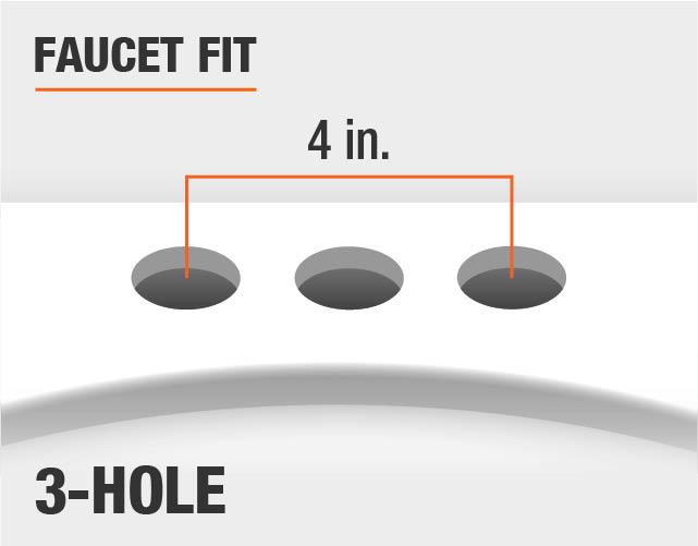 Glacier Bay Constructor 4 In Centerset 2 Handle Low Arc: Glacier Bay Teapot 4 In. Centerset 2-Handle Low-Arc