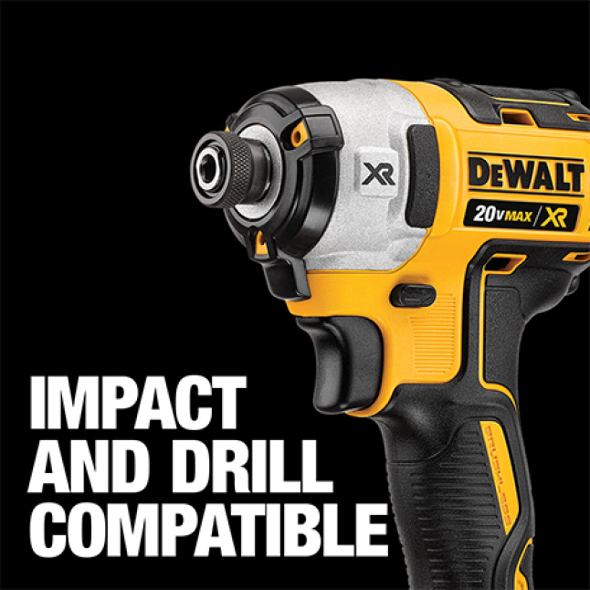 300693948 DWA38ADPTMI MAX Impact 1/4 in. to 3/8 in. Adaptor Impact and Drill Rated