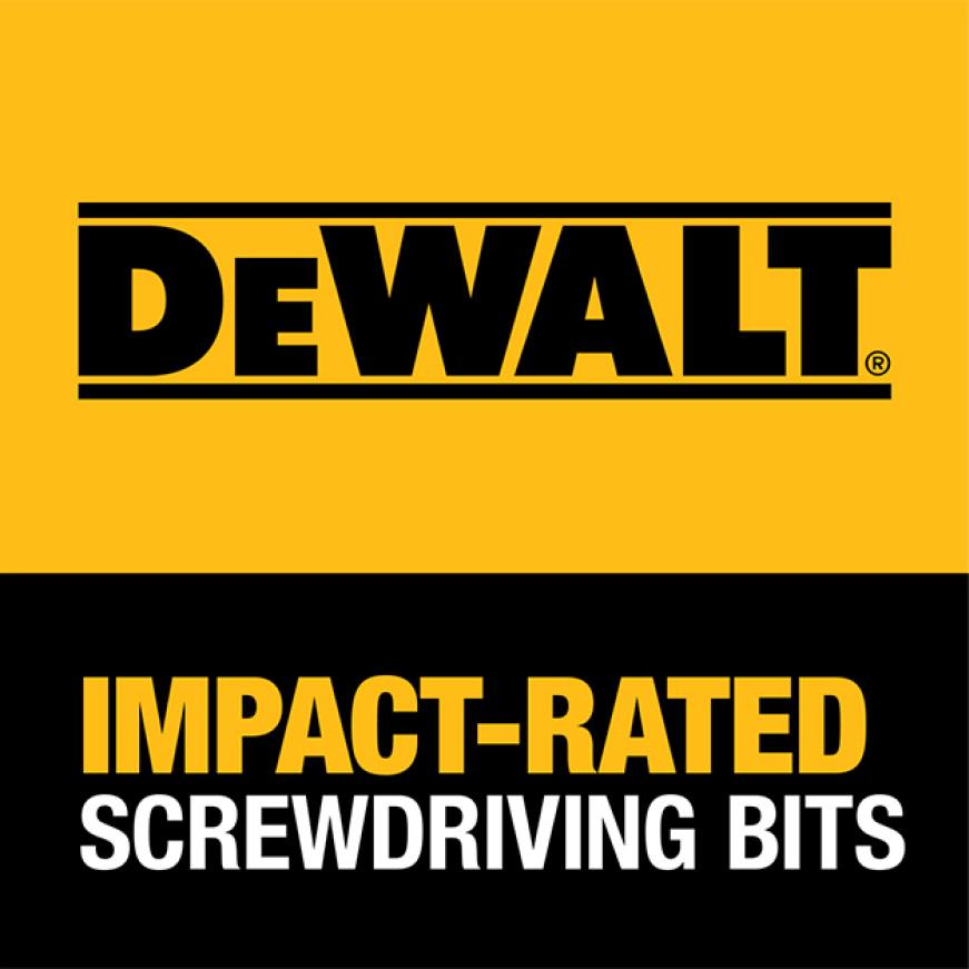 300702490 DWA516TNDMI MAX IMPACT 5/16 in. Nut Driver DEWALT GUARANTEED TOUGH