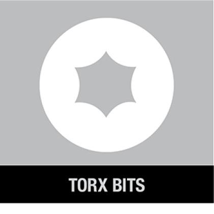 300703062 DWA716TNDMI MAX Impact 7/16 in. Nut Driver TORX BITS