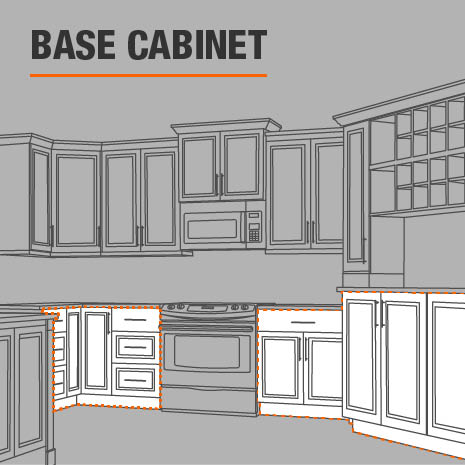 Base drawer cabinet for your kitchen, laundry room, or garage