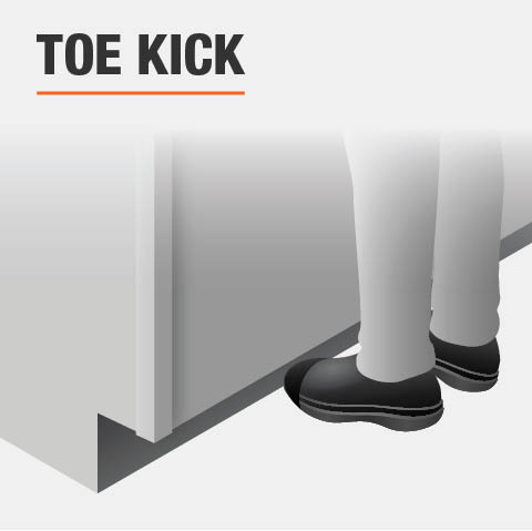 Product feature, Toe kick