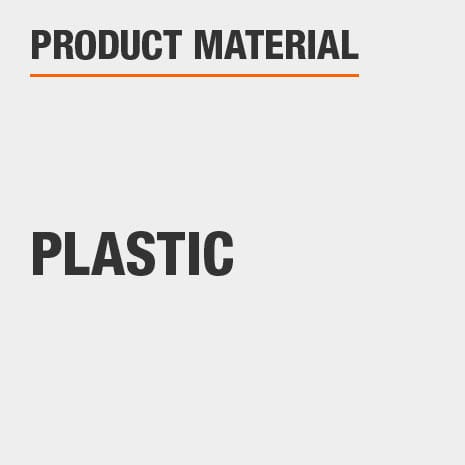 This product is constructed of a Plastic material.