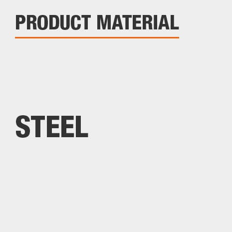 This product is constructed of a Steel material.