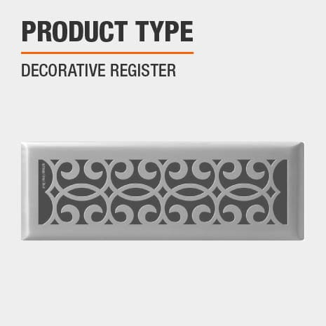 This product is a Decorative Register.