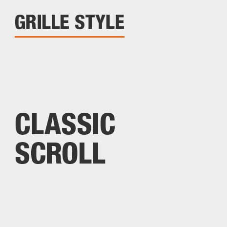 This product has a Classic Scroll style.