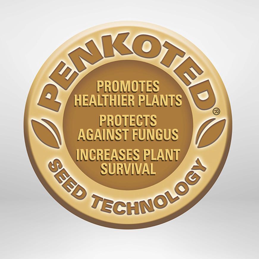 Pennington Smart Seed Sun & Shade Penkoted Technology Protects Seeds