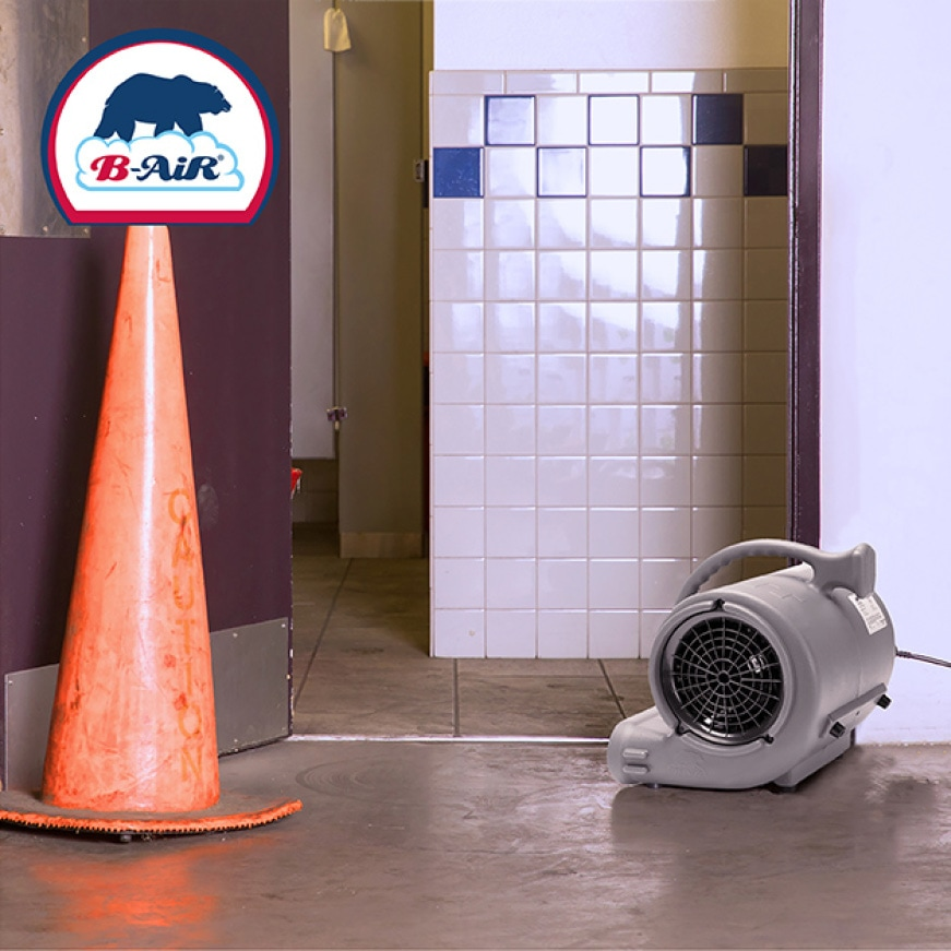 Over two decades of engineering excellence and industry-specific innovation stands behind every B-Air® air mover, dehumidifier or air scrubber.