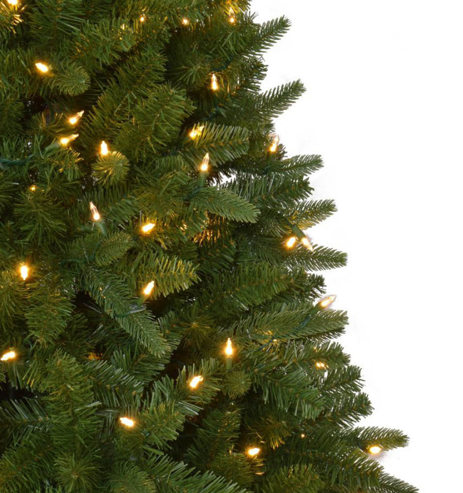 Home Accents Holiday 7.5 Ft. Quick-Set Pre-Lit LED Sierra