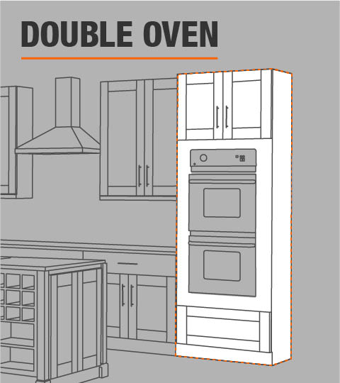 Double Sided Access Kitchen Cabinets