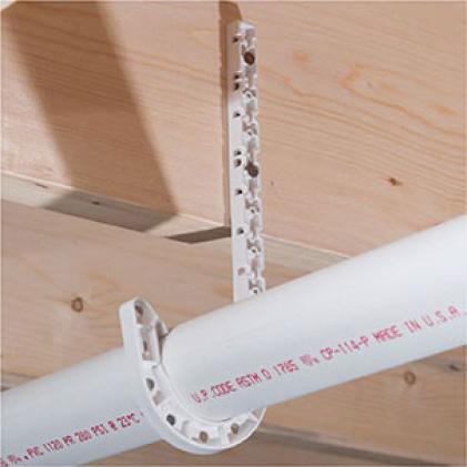 J-hook pipe holder