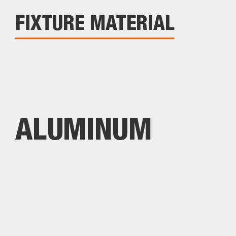 This light is aluminum.