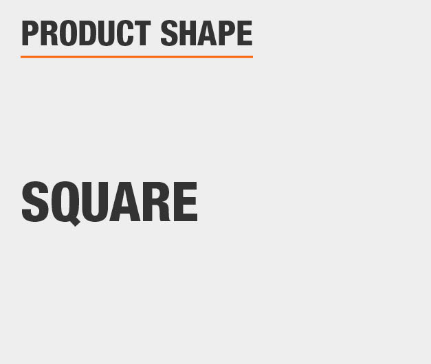 Product Shape: Square