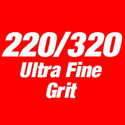 This is an Image of 220/320 ultra fine grit.