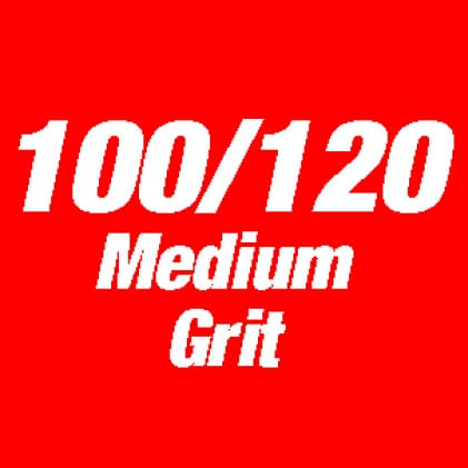 This is an Image of 100/120 medium grit.