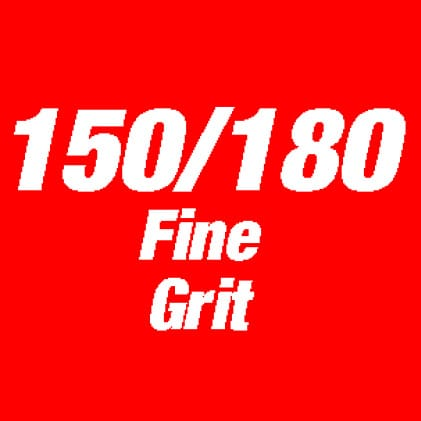 This is an image of 150/180 fine grit.