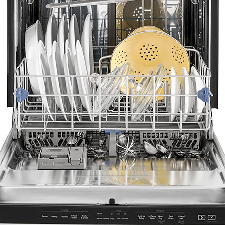 how to clean stainless steel dishwasher front