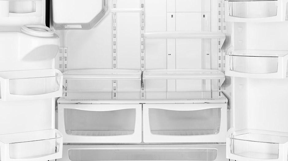 Whirlpool 36 In W 25 Cu Ft French Door Refrigerator In